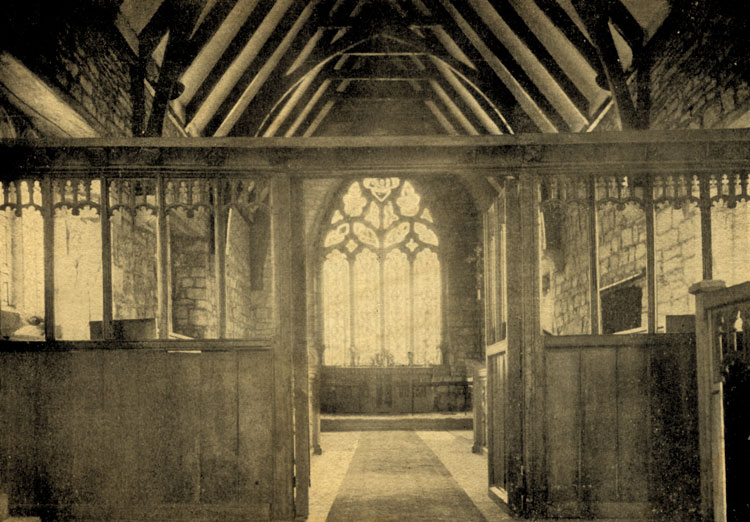 CHANCEL SCREEN – Church Fenton c.1937