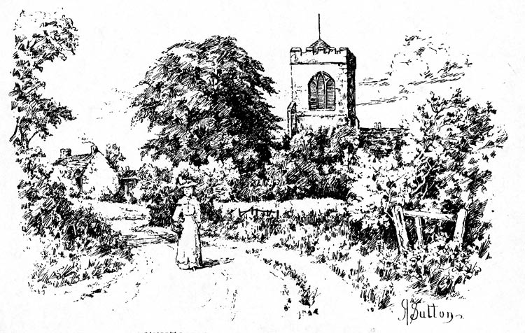 CHURCH FENTON CHURCH FROM THE SOUTH