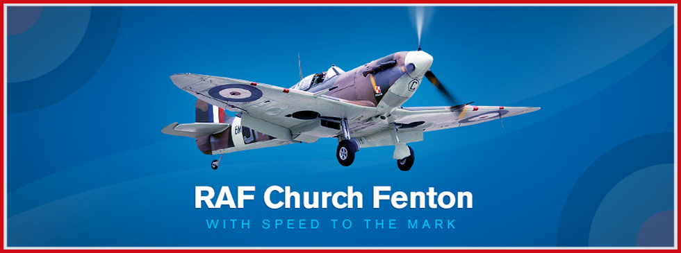 RAF Church Fenton - With Speed to the Mark