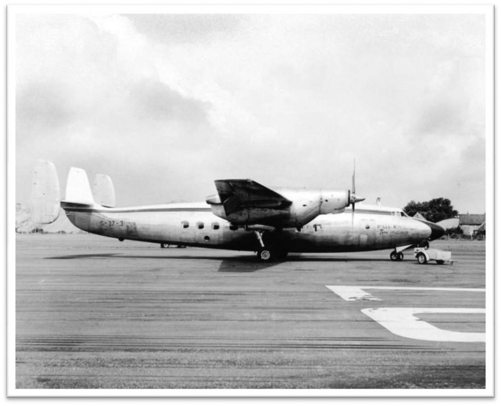 Ambassador G-37-3Dart turboprop development - 1961