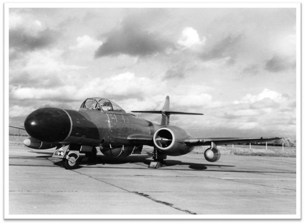 NF14 delivered to Hucknall for civil registration G-ASLW - 1963
