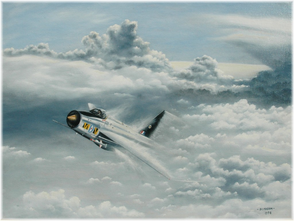 Lightning painting by David Mason - 1998