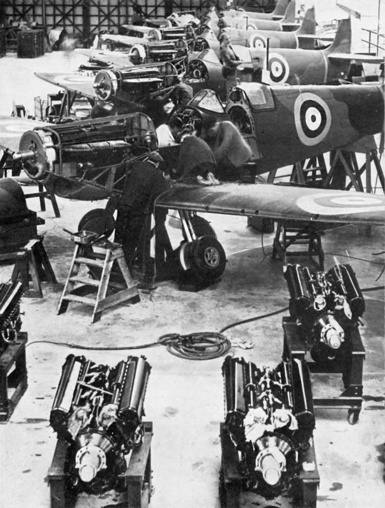 """Spitfires were coming off the line in rapidly increasing quantities. They were the finest machines of their kind in the world."""