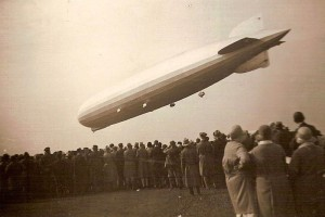 Zeppelin LZ127- During its operating life the airship made 590 flights, covering more than a million miles (courtesy Alexander Cohrs)