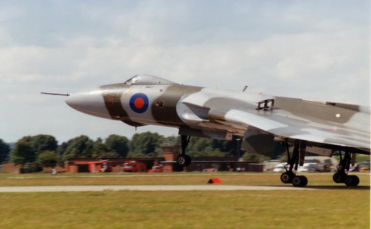 Avro-Vulcan, Fenton Airshow