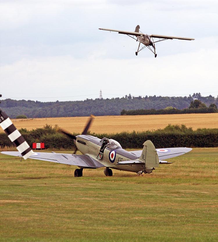 Seafire Mk XVII Shuttleworth