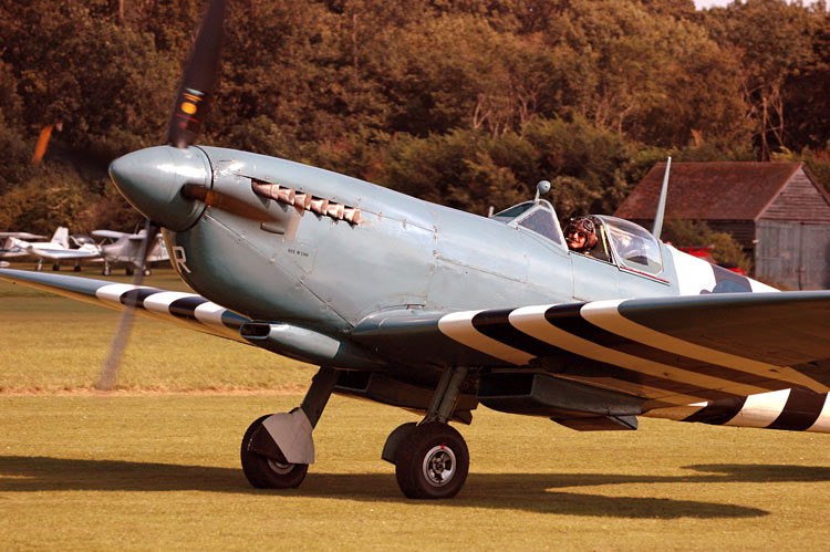 PRU blue-painted Spitfire