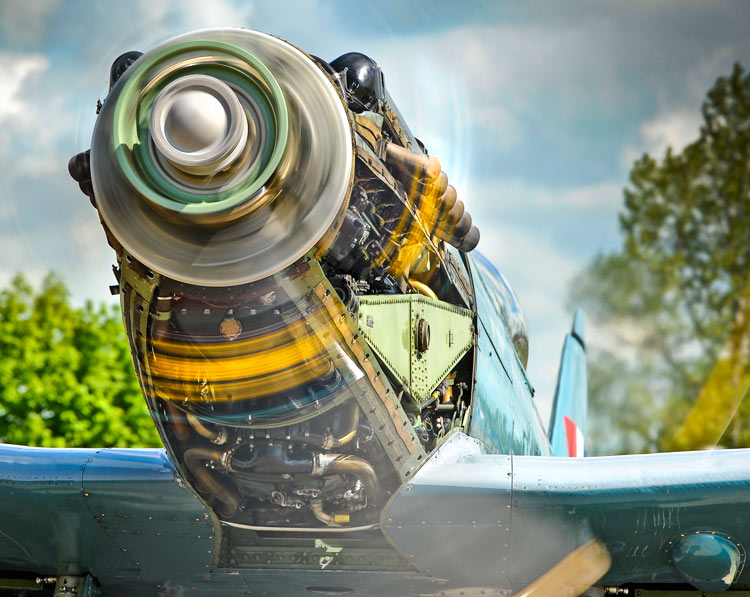 Spitfire Fighter Engine Testing