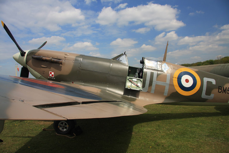 raf church fenton spitfire 3