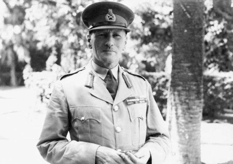 "Field Marshal Sir Claude Auchinleck - appointed Commander-in-Chief of the Middle East theatre, but after initial successes the war in North Africa turned against the British, and he was relieved of the post in 1942 during the crucial Alamein campaign. He had an uneasy relationship with his subordinate Bernard Montgomery later wrote: ""In the 5th Corps I first served under Auchinleck.....I cannot recall that we ever agreed on anything"""
