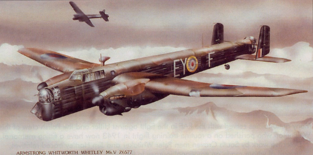 Paintings by aviation artist David R Watson, Flight Studio, 1 Yew Tree Close, Bradley, Keighley, West Yorkshire BDQO 9HZ