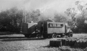 Wireless receiver vehicles operating in southern France