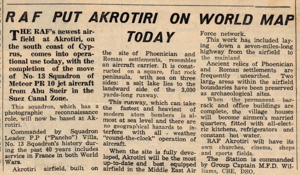 RAF Akrotiri